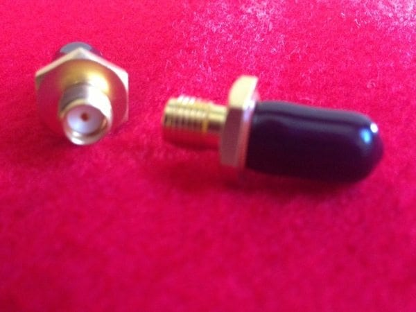 SMA Straight Female Bulkhead Receptacle Hermetic Seal Connector Image